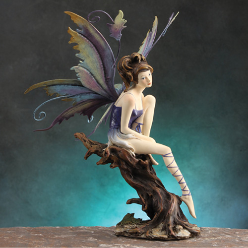 FAIRY ON TREE- PURPLE