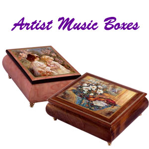 Artist Music Boxes