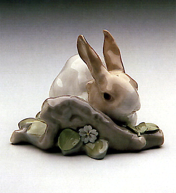 Rabbit eating - Retired 1998