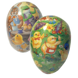 Traditional designs decoupage easter eggs hermanns fine gifts the very special easter egg traditional cardboard easter egg perfect to put easter gifts inside designs vary not all designs shown negle Choice Image