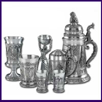 Pewter Steins